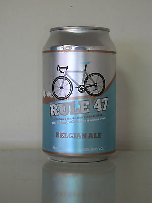 """330Ml Blizzard Collabortion Beer """"rule 47"""" Belgian Ale Beer Can"""