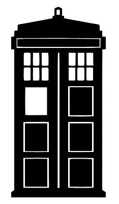 Dr Who Tardis vinyl Decal / Sticker