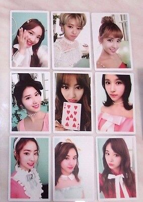 Twice Lane2 Knock Knock Official First Press Limited Photo Card Set B-Pink Ver