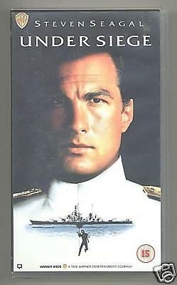 Steven Seagal - Under Siege - VHS Video - 1992