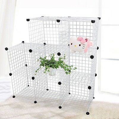 Mesh Cube Storage Rabbit Outdoor Garden System Cage Wire Box CE Hug Flight