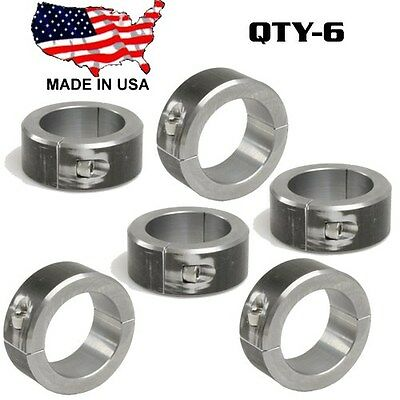 """8 Clamp On 2 Blt Steel DOM Fabrication Clamp 1.25/"""" Roll Bars Cage Tubing Weld On"""