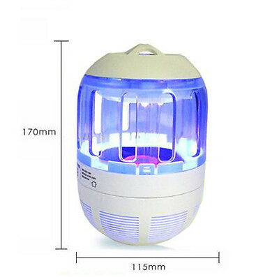 Photocatalyst Insect Fly  Killer LED Electric Mosquito Repellent Bug Trap Lamp