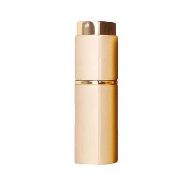 20ml Perfume Aftershave Atomizer Atomiser Bottle Pump Gold Refillable Spray