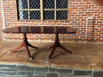 12 th Dolls House Miniature Dining Table By Escutcheon