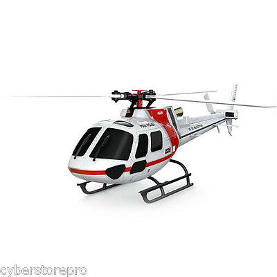 XK K123 6CH RC 3D Flybarless Helicopter RTF Compatible with Futaba S-FHSS