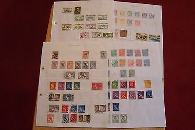 Finland stamps, selling old collection of 85 stamps, see scans
