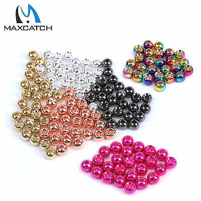 Fly Tying Beads Tungsten Beads Colorful Various Size Hook Nymph Head Ball Beads
