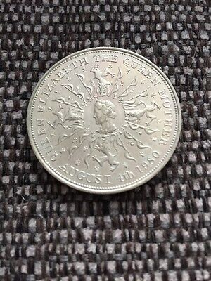 Queen Elizabeth The Queen Mother 80th Birthday Commemorative Coin 1980
