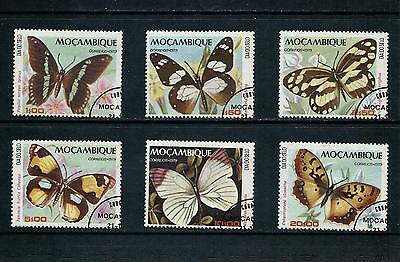 MOZAMBIQUE _ 1979 'BUTTERFLIES' SET of 6 _ used (cto) ____(467)