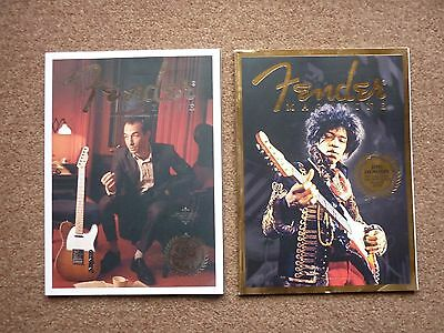 fender magazines collectors issues, stratocaster, telecaster etc