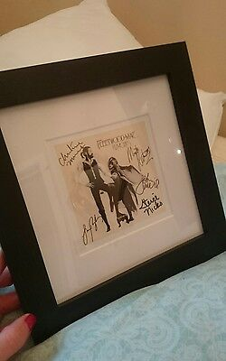 Fleetwood Mac Frame & Signed Photo