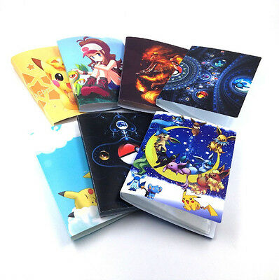 Pokemon Yugioh 4-Pocket Binder A5 14 Page Portfolio Album! Holds 112 Cards