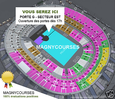 Tickets U2 in lawn standing next to the Red Zone - Même vue que depuis Red Zone