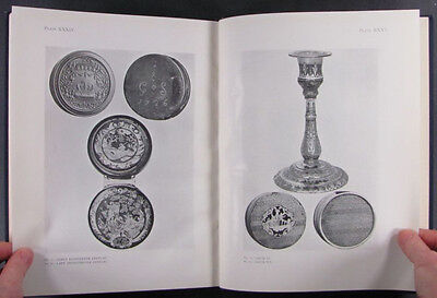 Antique Gold & Silver Pique Boxes Snuffboxes + Inlaid Antiques - 1923 Book