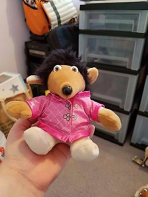 Wombles Collectable Golden Bear Beanie Soft Toy - Shanzi