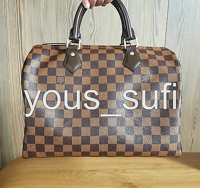 Base Shaper Liner which fits the LV Speedy 30 Bag Clear Shape Louis Vuitton