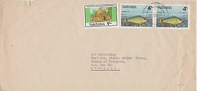 Tanzania, mixed franked Inland Cover, Parrot Fish Traditional House. MiF Bischof