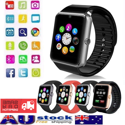 Bluetooth Smart Watch GT08 Touch screen for All SMART PHONE 2018 MODEL SYD