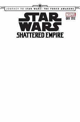 Star Wars: The Force Awakens - Shattered Empire 1 Blank Variant