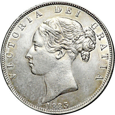 Victoria. Halfcrown. 1883.   About Uncirculated..  7054.