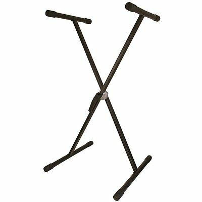 TGI TGKS1 Keyboard Stand with Removable Arms - Black