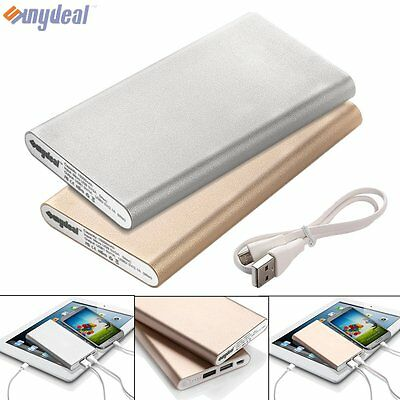 20000mAh Portable External Dual USB Power Bank Battery Charger For Smartphone UK