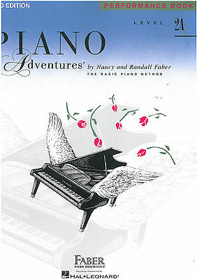 Piano Adventures - Performance Book - Level 2A - Nancy & Randall Faber - FF1083