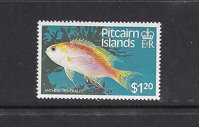 Pitcairn Islands 1984 $1.20 Fish Vaiety Crown to Right of CA UMM MNH SG257w