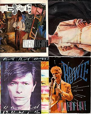 "DAVID BOWIE - 7"" PS Vinyl Record Collection - Choose from 8 @ £3 each"