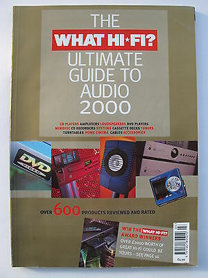 What Hi-Fi Magazine - The Ultimate Guide To Audio 2000 - Contents Shown