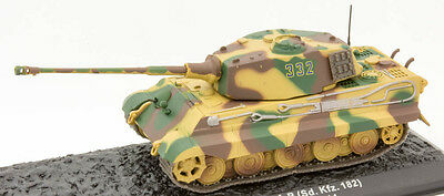 The Combat Tanks Collection (Issue 31) - PZ.KPFW. VI TIGER II