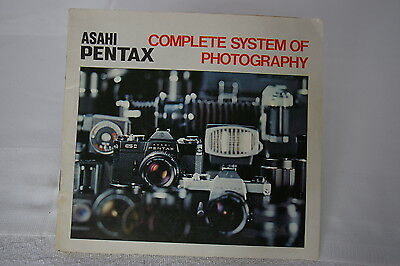 Vintage Asahi Pentax 'complete System Of Photography' Book / Manual