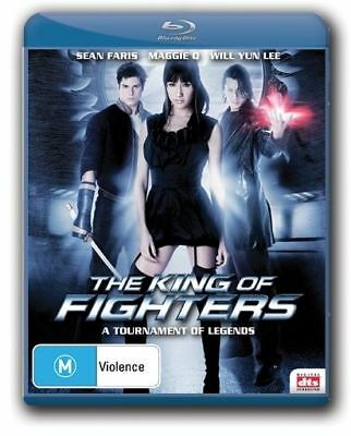 King Of Fighters (Blu-ray, 2010) Brand New, Genuine & Sealed  - Free Postage D38