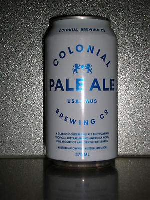 375Ml Colonial Brewing Pale Ale Beer Can