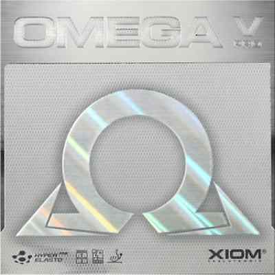 XIOM OMEGA V PRO RED COLOR  MAX THICKNESS  Table Tennis Rubber