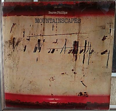 Barre Phillips ‎– Mountainscapes Lp NM ECM 1076 Germany Issue