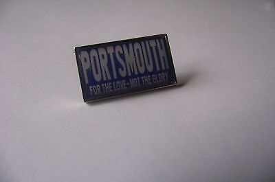 Portsmouth For The Love Not The Glory badge