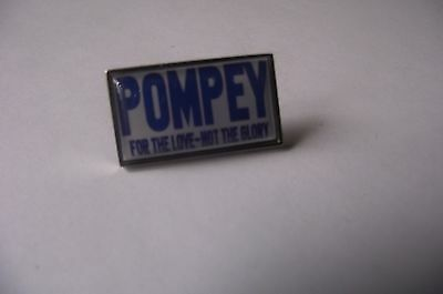 Portsmouth Pompey For The Love Not The Glory badge (2)