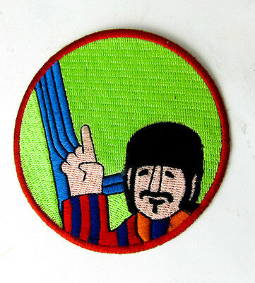 The Beatles George Harrison Iron On Patch Patches Badge Badges Awesome & Rare