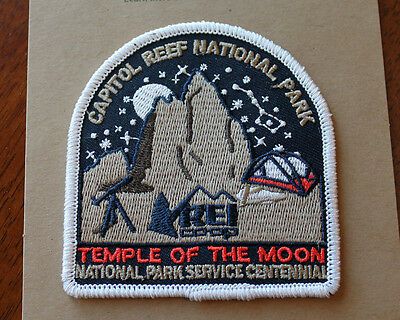 Capitol Reef National Park Service Centennial Patch Temple of the Moon REI 100th