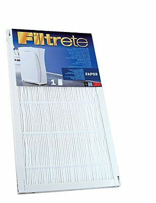 Filtrete Fapf03 Ultra Clean Large Air Purifier Replacement Filter For Filtrete N
