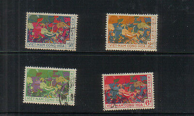 South Vietnam 1959 Trung Sisters set used