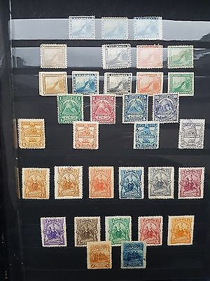 Nicaragua stamps lot of old stamps used and unused
