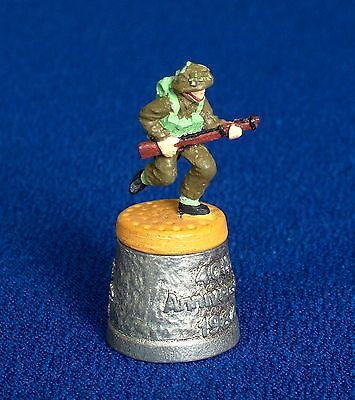 Thimble - Pewter - D - Day - Tommy