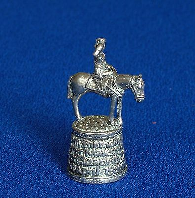 Thimble - Pewter - Trooping of the Colours