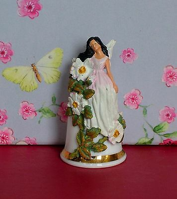 Thimble- Sterling Classic - Flower Fairy - Fine Bone China