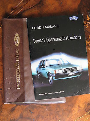 Ford Fairlane Drivers Operating Instructions