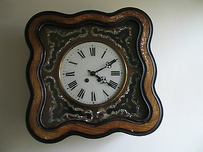 lovely old french vineyard clock