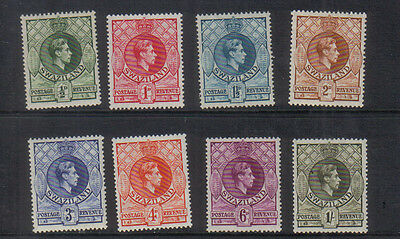 Swaziland George VI 1938-54 set to 1/- lightly mounted mint